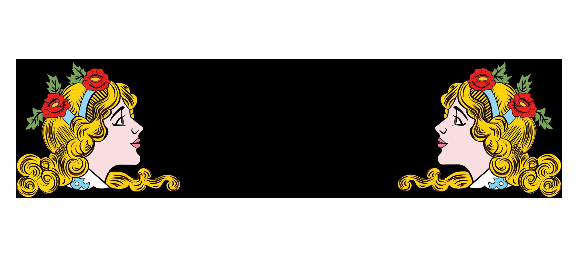 Bobby Bead Logo of women head and words