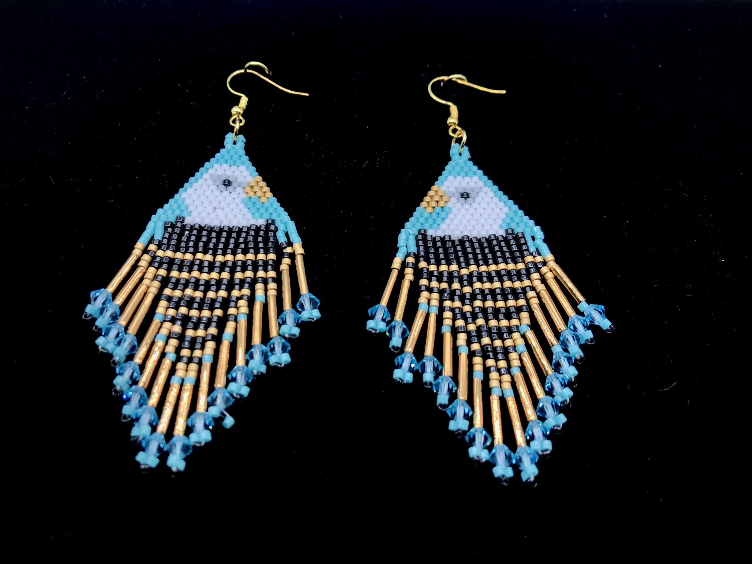 Bald Eagle Earrings