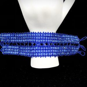 Bracelet Swarovski Bicone Light Sapphire AB