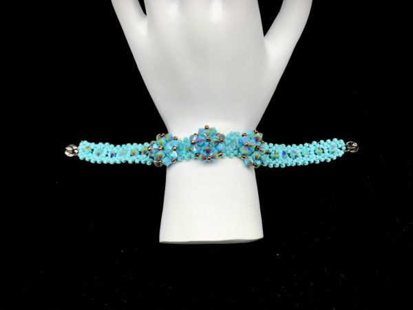 Bracelet Swarovski Turquoise AB
