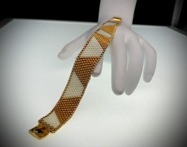 Bracelet Peyote Stitch Trapezoid