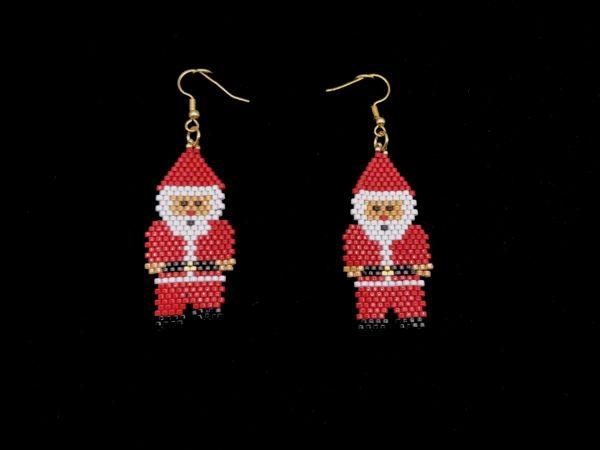 Brick Stitch Santa Claus