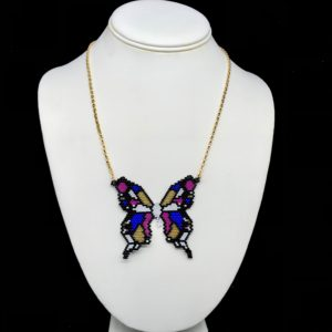 Necklace Butterfly From AIKO® Beads