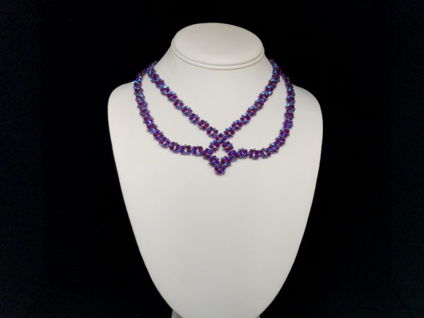 Necklace Swarovski Bicone