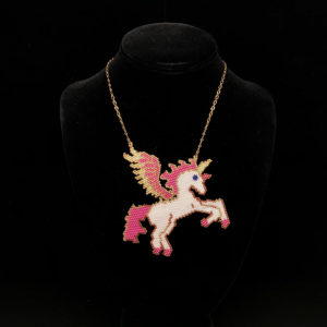 Necklace Unicorn With AIKO®