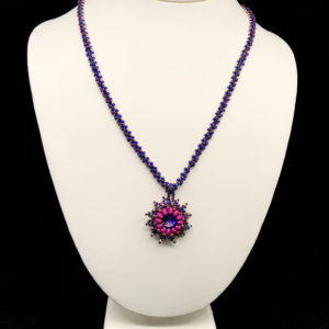 Necklace With Rhinestone