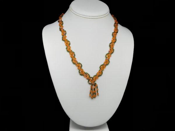 Necklace With Swarovski Bicone