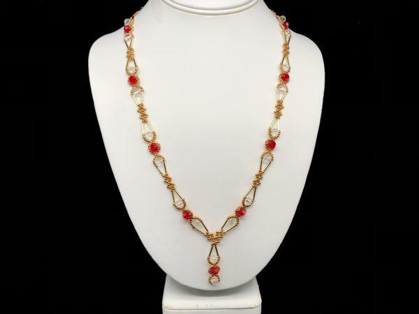Necklace With Swarovski Round
