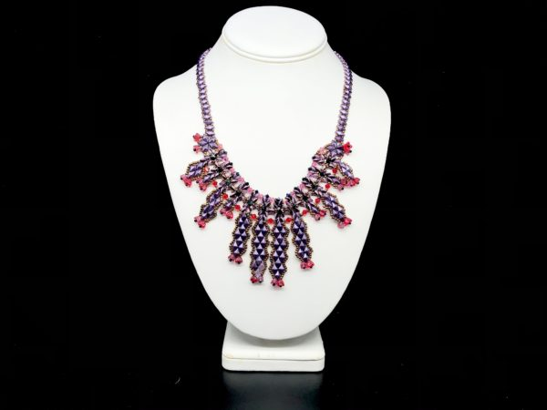 Necklace with Czech Bead